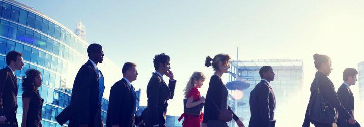 business walkers