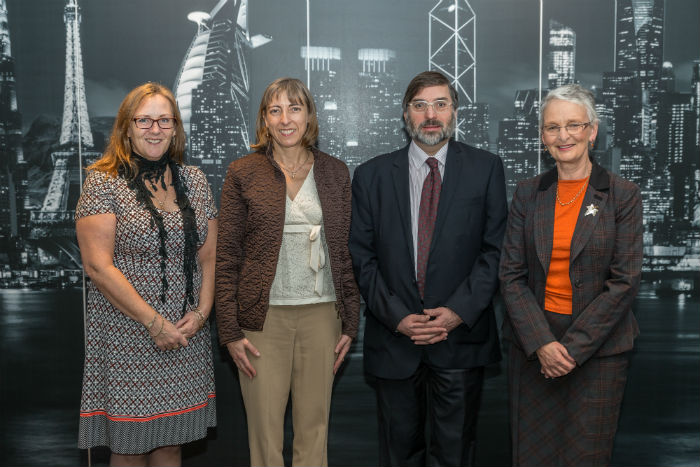 Professor Louise Crawford CA, Dr Oonagh Breen, Professor Gareth Morgan and Dr Carolyn Cordery.