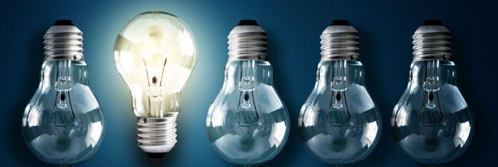 Photo of a lightbulb