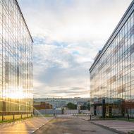 Buildings in financial area