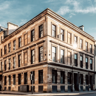 Glasgow square building