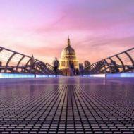 London and the Millennium Bridge