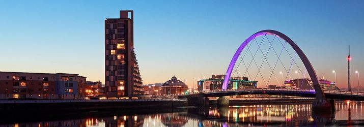 Generic image of Glasgow skyline.