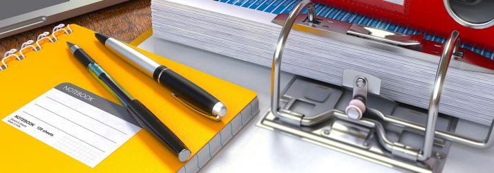 Pens and Folders
