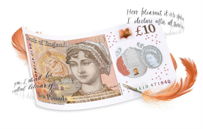 Jane Austen note