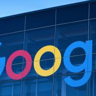 Google sign headquarters