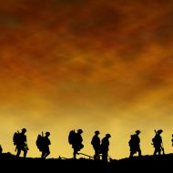 Soldiers at sunset WW1.jpg