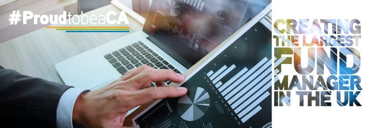 Fund manager web header
