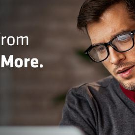 Tagline - Expect more from those who do more.