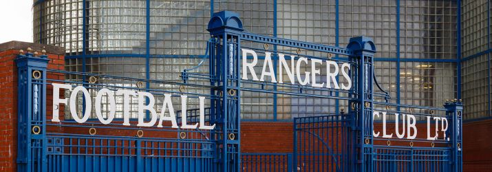 Rangers Football Club main gate