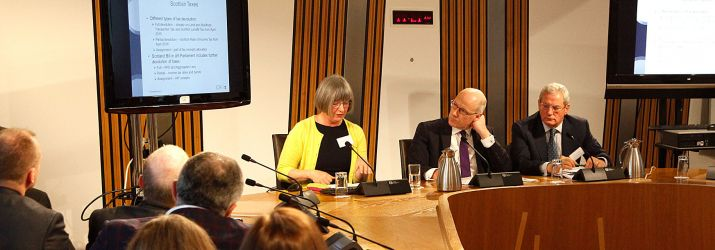 Anne-Marie Roberts at Holyrood