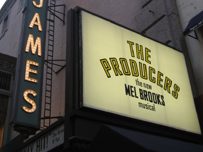 The Producers Sign