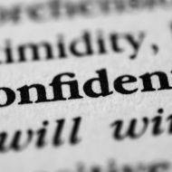 Photo of Confidence dictionary definition