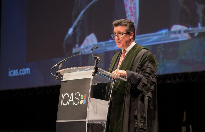 ICAS CEO Anton Colellla