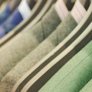 Suits, rack