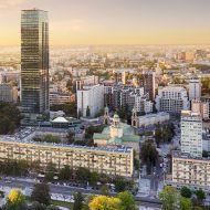 Warsaw City Skyline