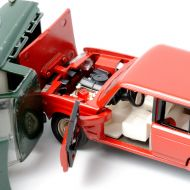 Picture of toy cars crashing