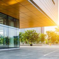 Modern building in daylight