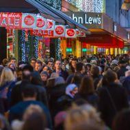Photo of shopping rush by IR Stone