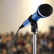 Speaking_at_event