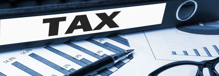 Stock image - company tax