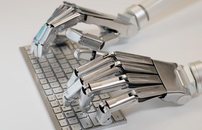 Typing robot