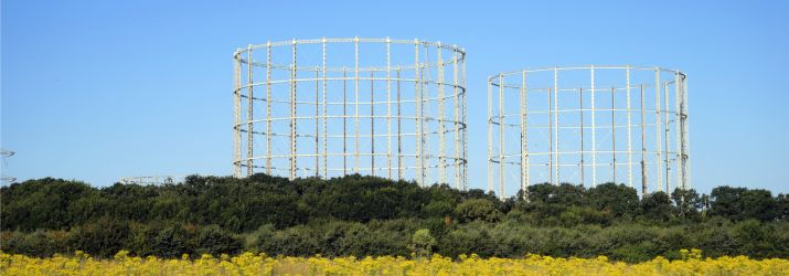 UK gas holder