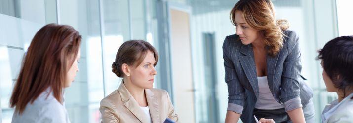 Women working in business