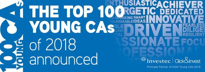 Top 100 YCA list header