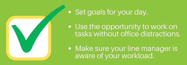 Working from home: Know what you want to achieve
