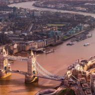 Dawn in London