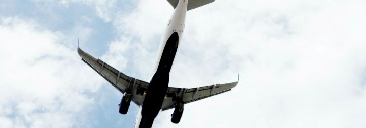 Sky and plane