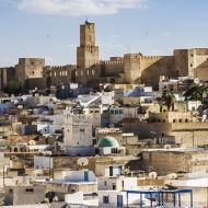 Skyline of Tunisia