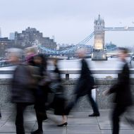 London bridge blur