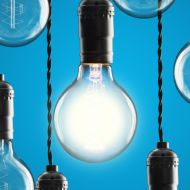 Leader lightbulb