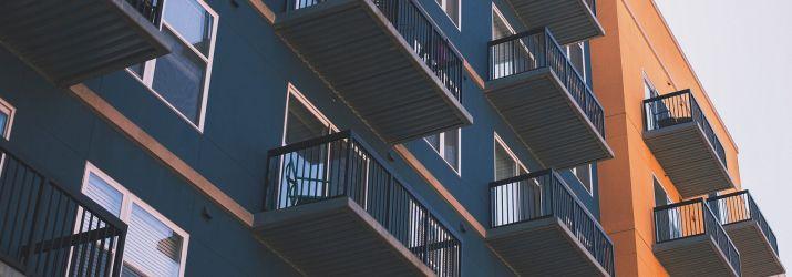 Photo of an apartment block