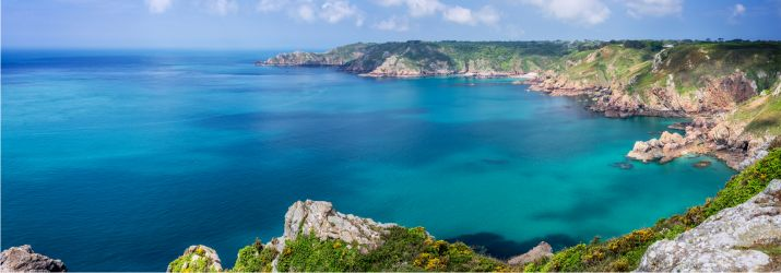 Guernsey view coast