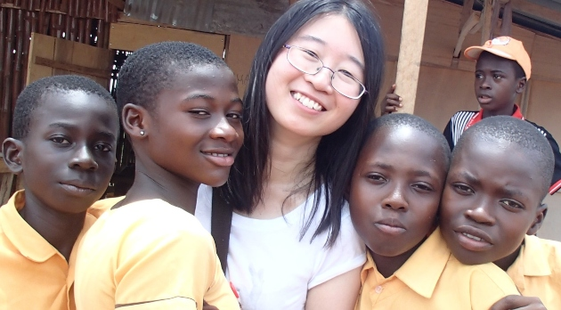 Olivia Ng on placement in Ghana