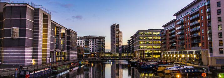 Leeds cityscape