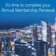 Annual Renewal
