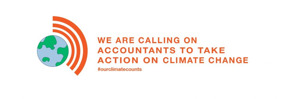 We are calling on accountants to take action on climate change