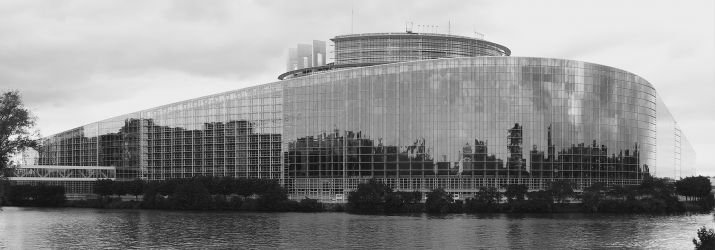 European Parliament (Black and White)