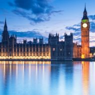 London Parliament building sunset 18