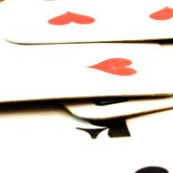 Bridge playing cards
