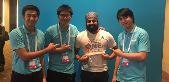 Indy Hothi at OYW Summit 2015