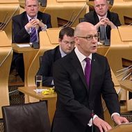 John Swinney budget statement