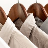 Picture of rack of clothes