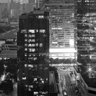 City Buildings (Black and White)