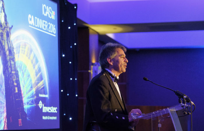 ICAS President Ken McHattie
