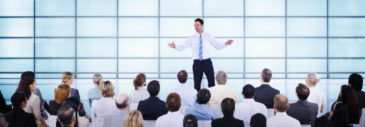 Practising the art of public speaking